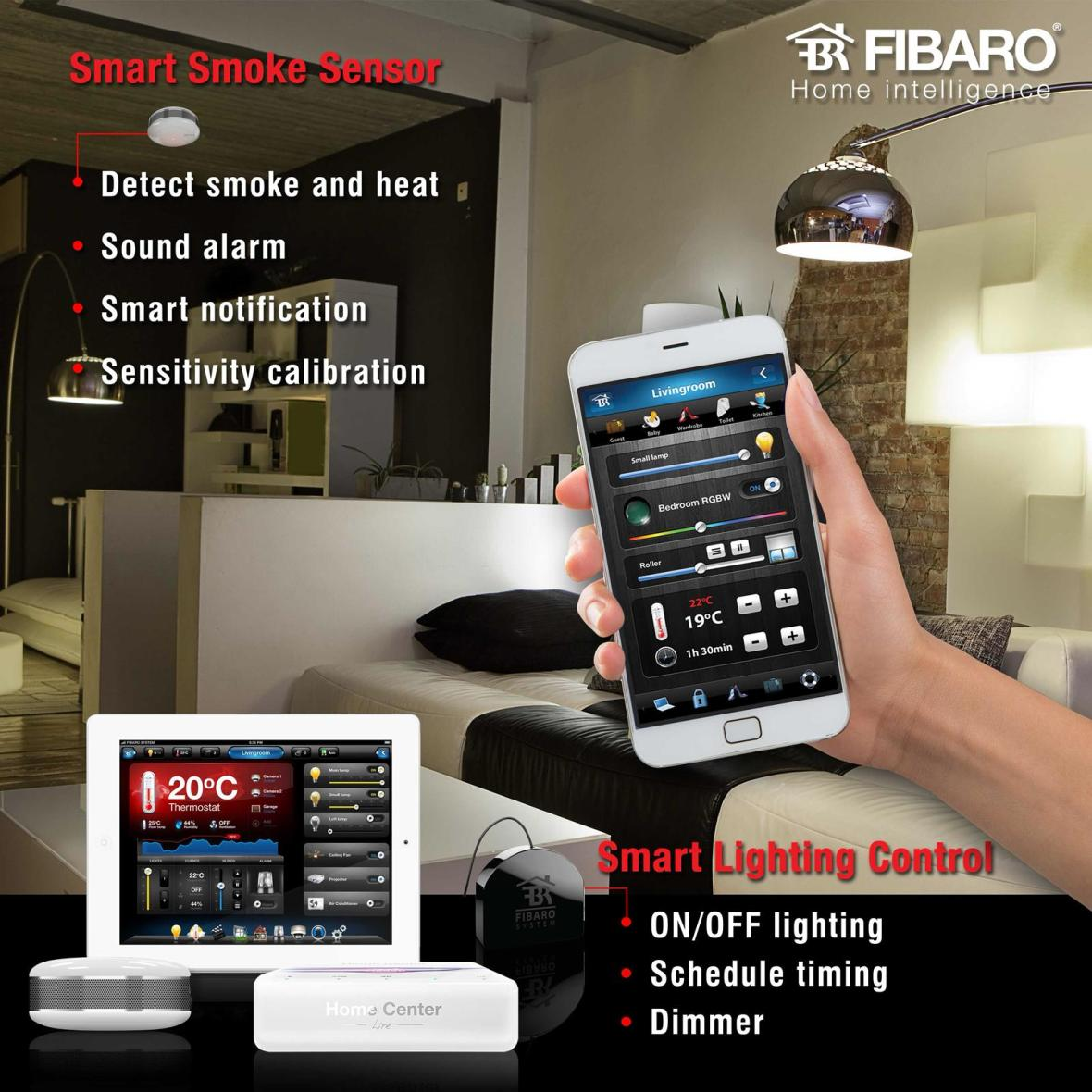 Belgravia Green Belgravia Green Fibaro Home Intelligence App Smart Smoke Sensor Detector & Smart Lighting Control, developer sales, sales team, clara heng