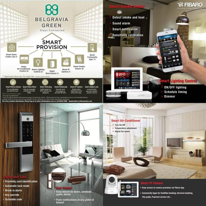 Belgravia Green Smart Home, BG developer, sales team, clara heng