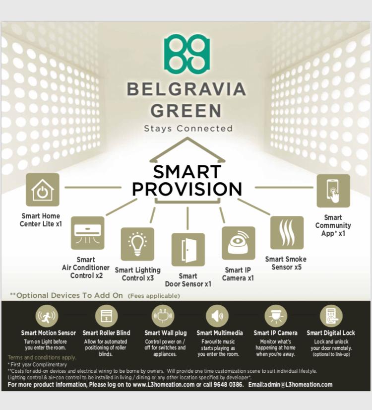 Belgravia Green Smart Provision System, Smart Home App, developer sales, clara heng