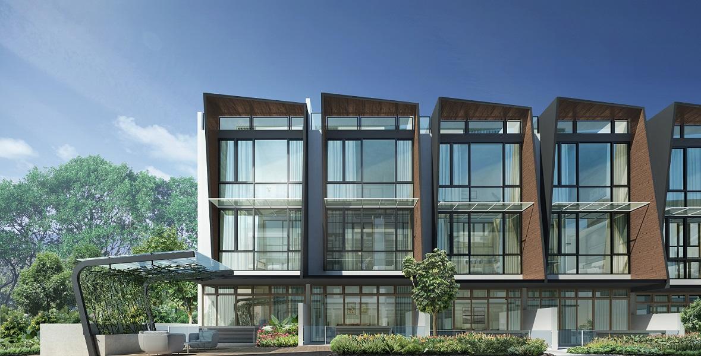 Belgravia Green timber lookalike architecture facade, developer, sales team, clara heng