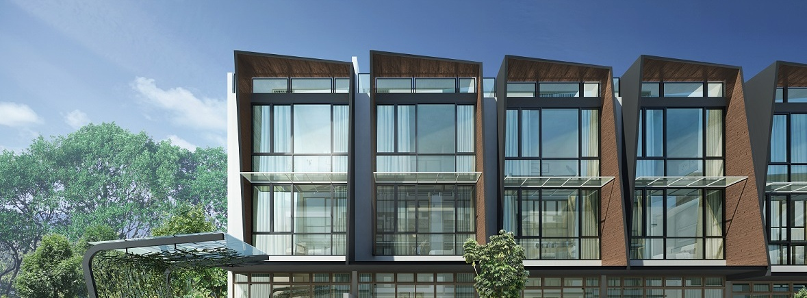 Belgravia Green timber lookalike architecture facade, developer, sales team, clara heng