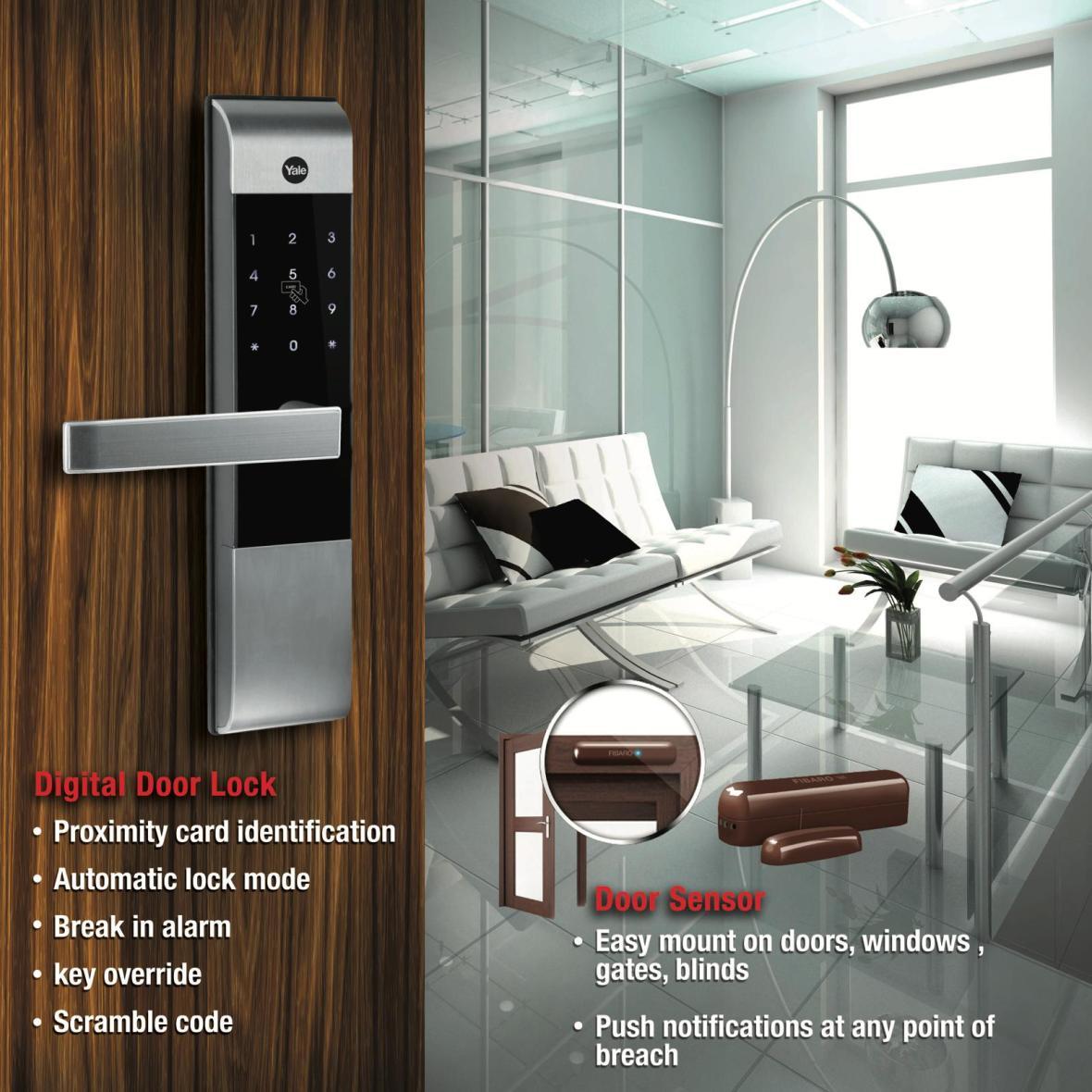Belgravia Green Digital Door Lock Door Sensor, developer sales team, clara heng