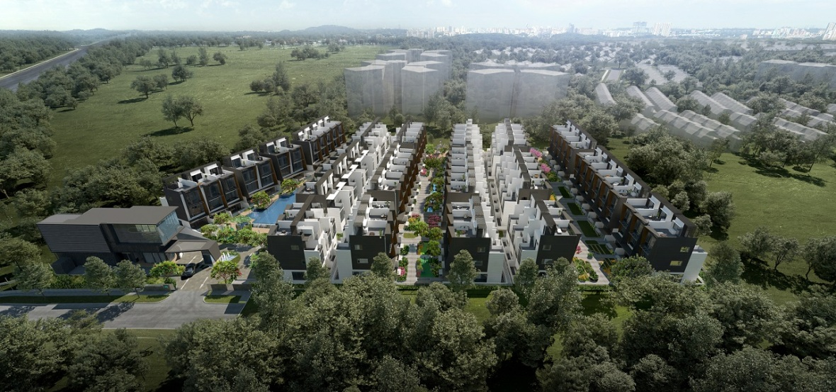 Belgravia Green Aerial View, Developer, Sales Team, Clara Heng, Heng Clara, Clara,