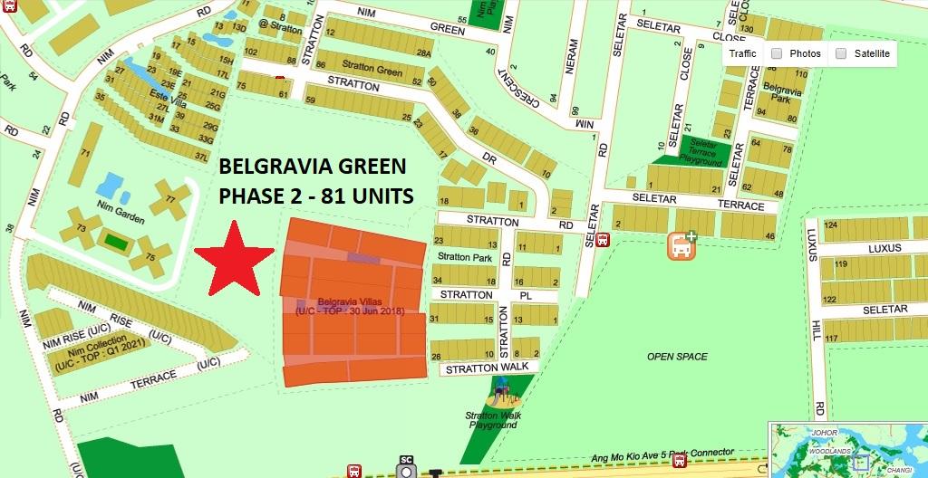 Belgravia Green Location